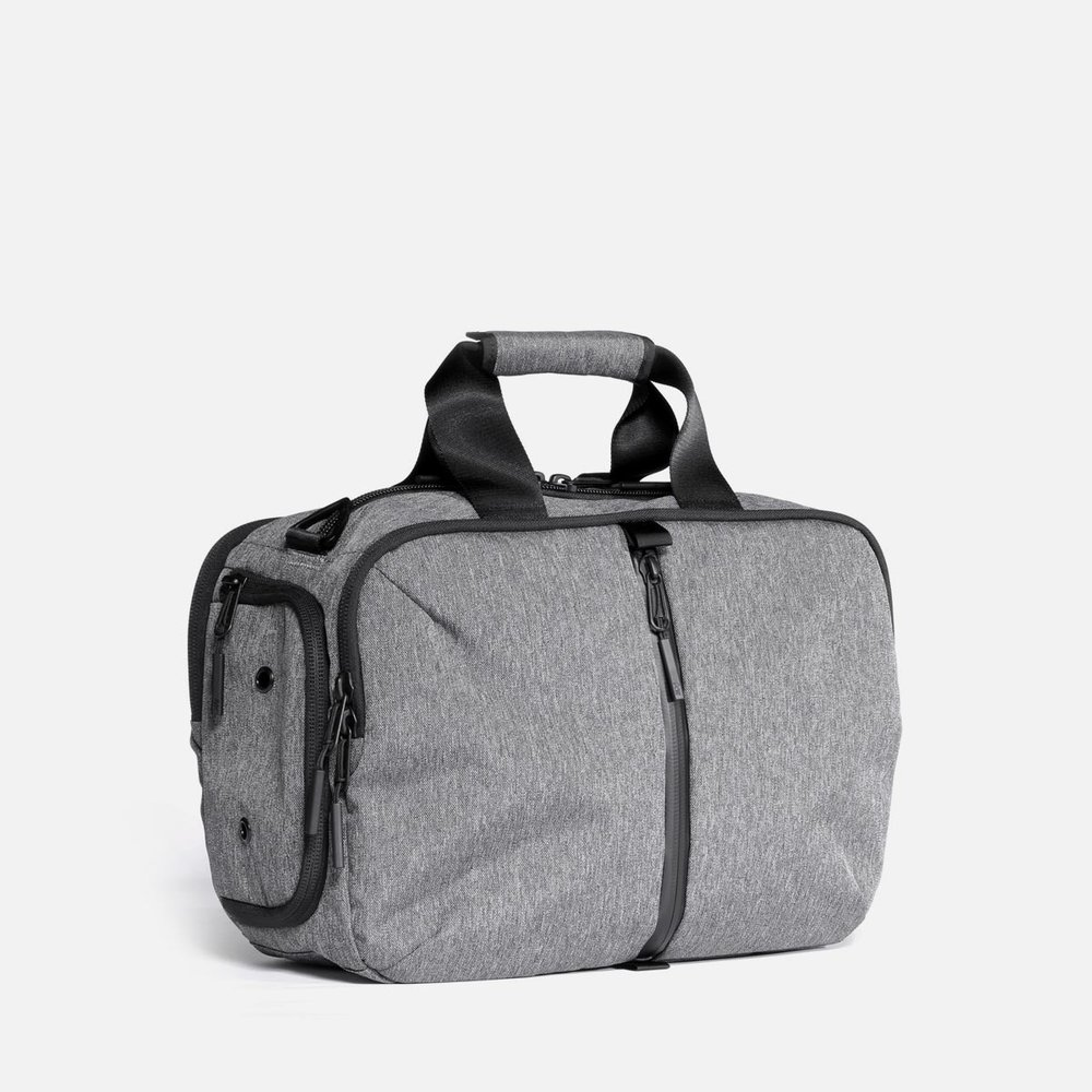 gym duffel 2 small gray aer modern gym bags travel backpacks