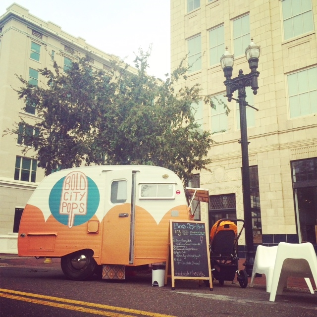 Pop up at the Downtown Public Library, Jacksonville, Florida. Eat a popsicle. Read a book.