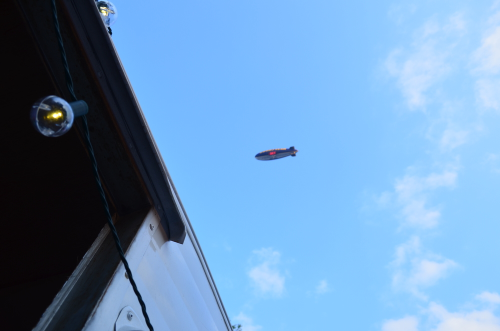 Goodyear . . . Good Year It was hard to concentrate with the Goodyear Blimp flying over my office. Thanks basketball!