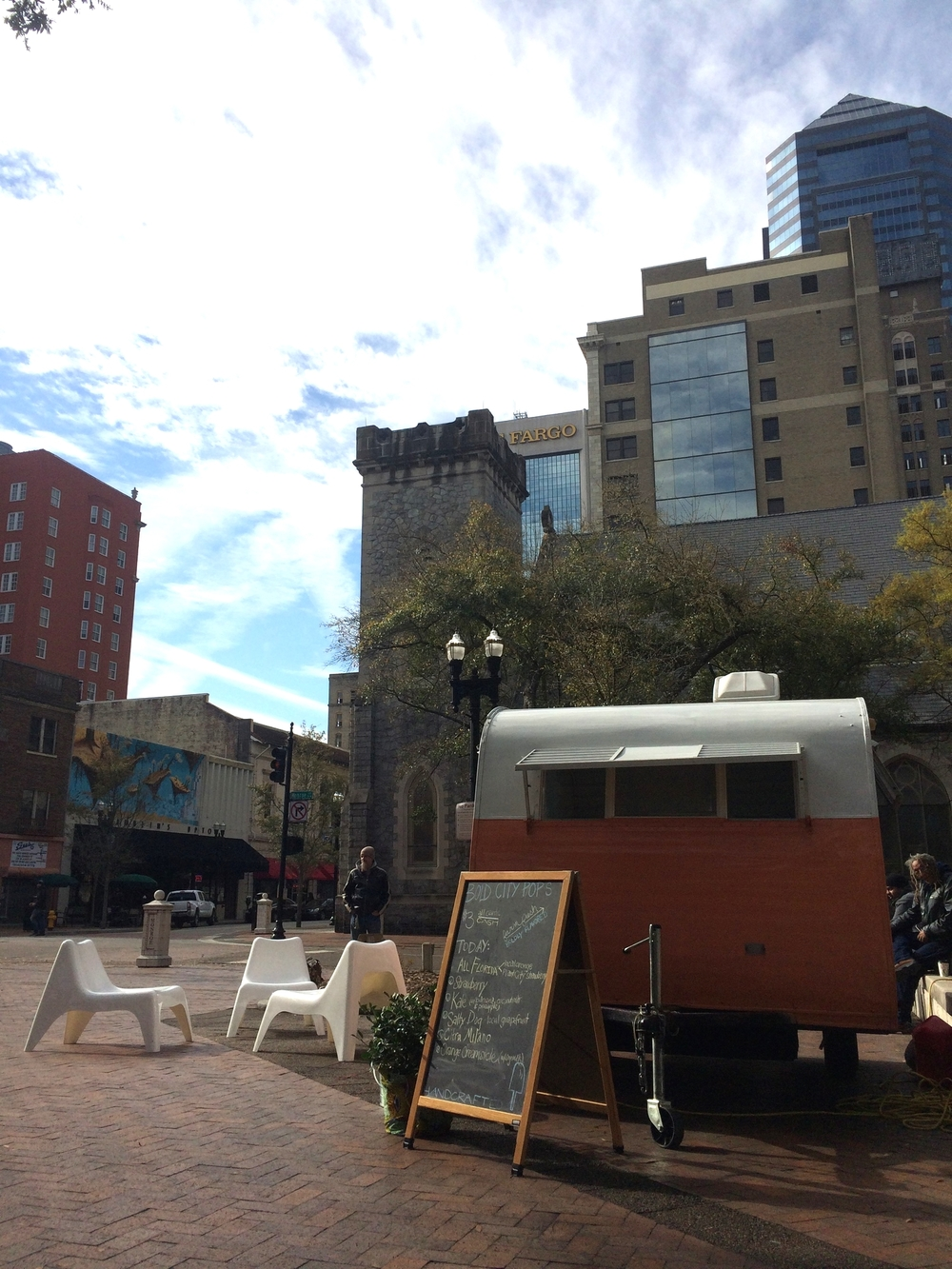 Vagabond Flea:    The first Saturday of each month we set up in Hemming Park with makers and friends. I love Hemming days.