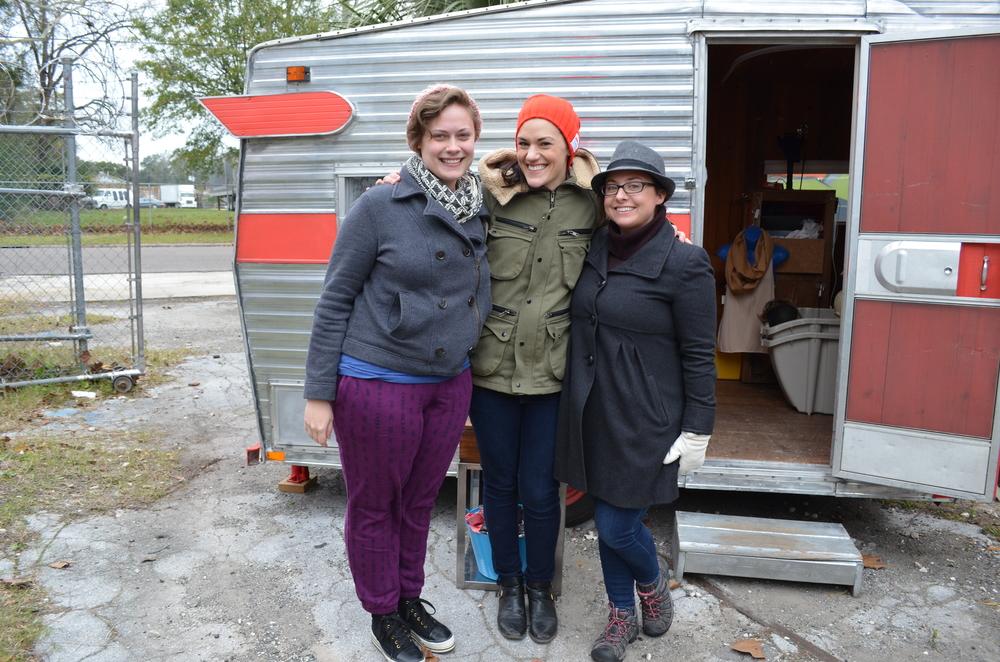 Regina, Sally and Katie