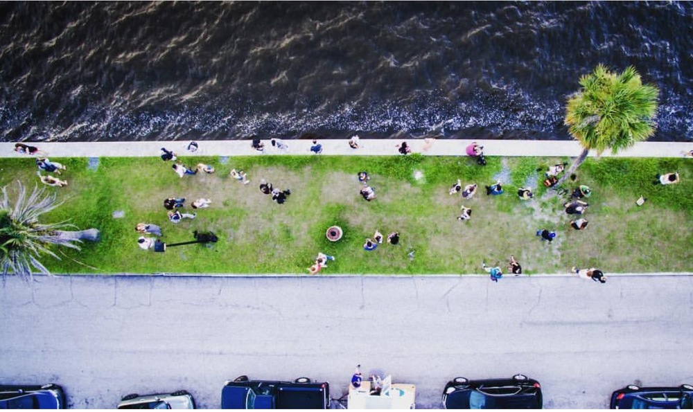 Sky Visuals  photo of last Sunday's Roam Florida InstaMeet. You can see Pearl, bottom middle.