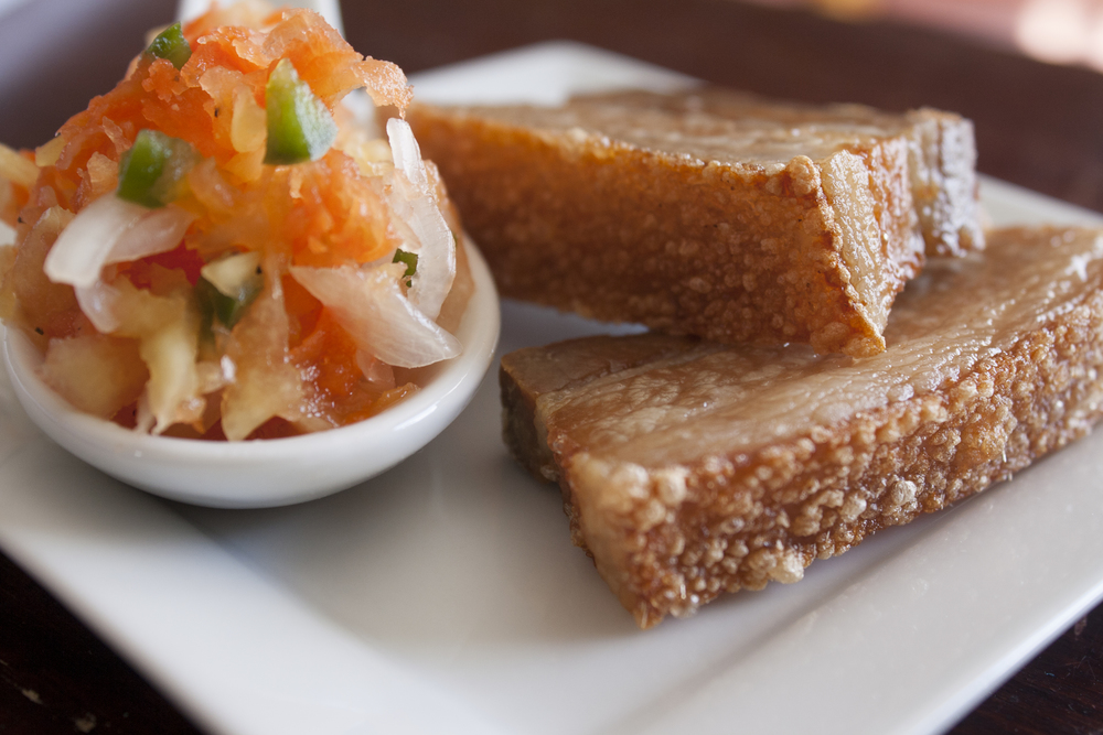 Mmm, crispy pork belly! Photo by Dorothy Hernandez