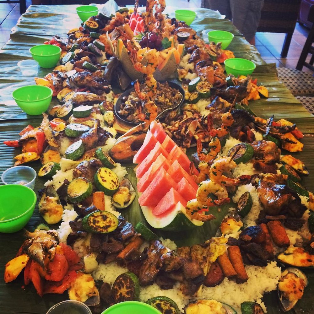 Kamayan meals are pretty epic such as this boodle boodle feast Dorothy had for her birthday (she's still full). Join us at our table on Sept. 19!