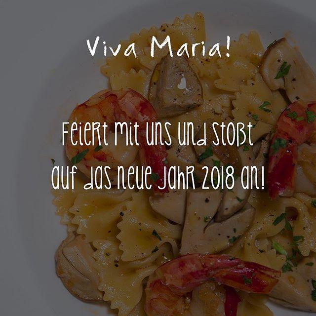 Gleich reservieren und Silvester 2018 beim Lieblingsitaliener feiern 🎉  #vivamaria #silvester2018 #feiern #italianfood #italienischeküche #münchen #munich #glockenbachviertel #derkleineitalienerumdieecke