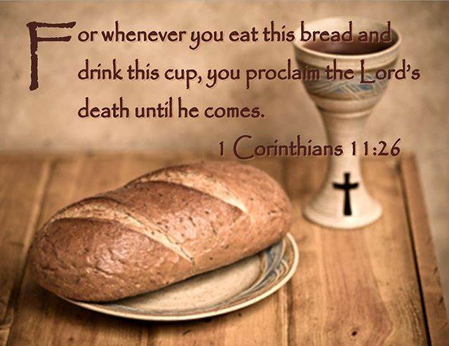 """Sermon, April 29, 2018: """"Celebrating the Lord's Supper"""" I Corinthians 11:23-32 Dr. Charles Kimball Morning Worship Combined in Sanctuary"""