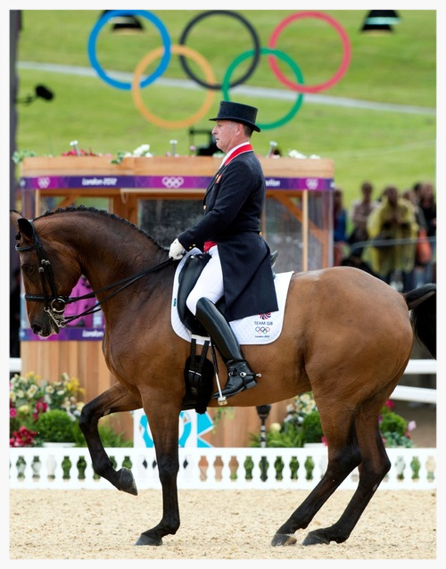 Richard Davison and Hiscox Artemis at London 2012
