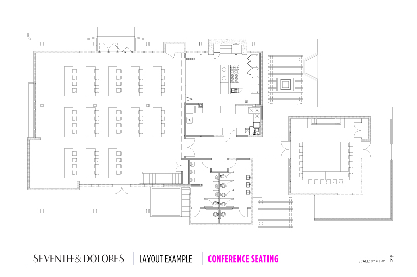 Layout Example: Conference Seating
