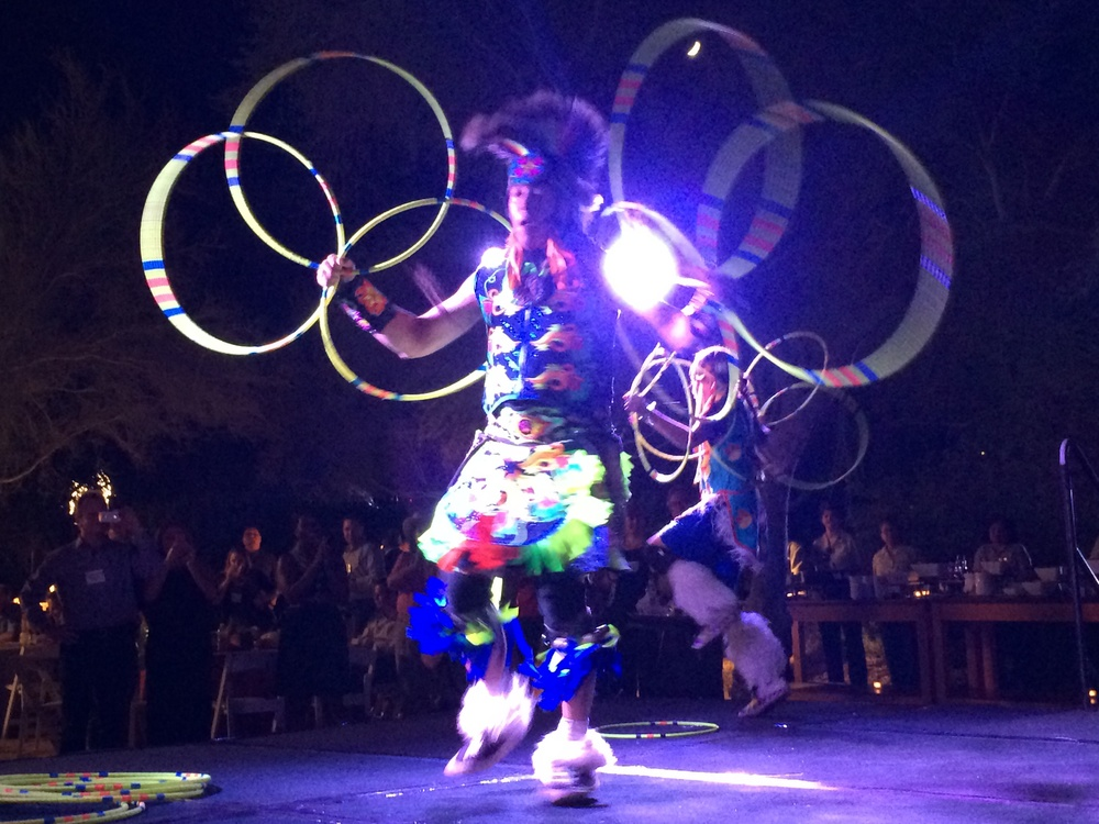 Tribal dancing