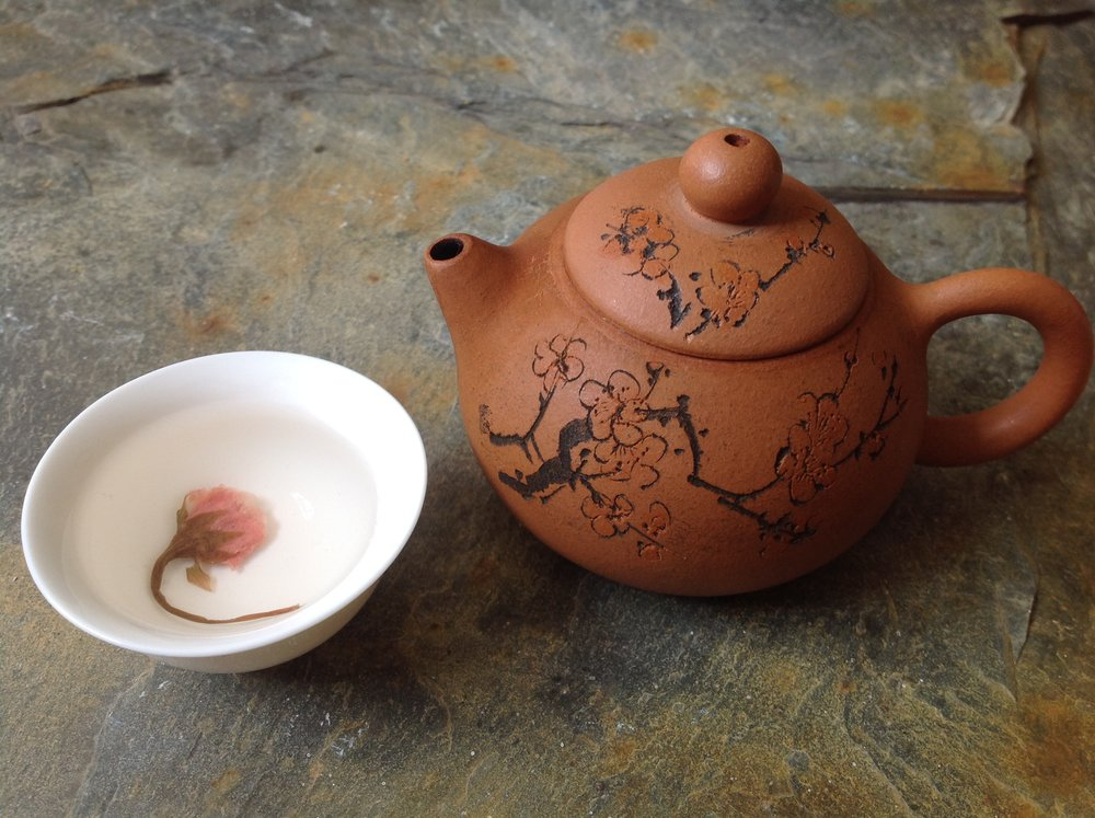 Traditional Yixing Plum Blossom Teapot