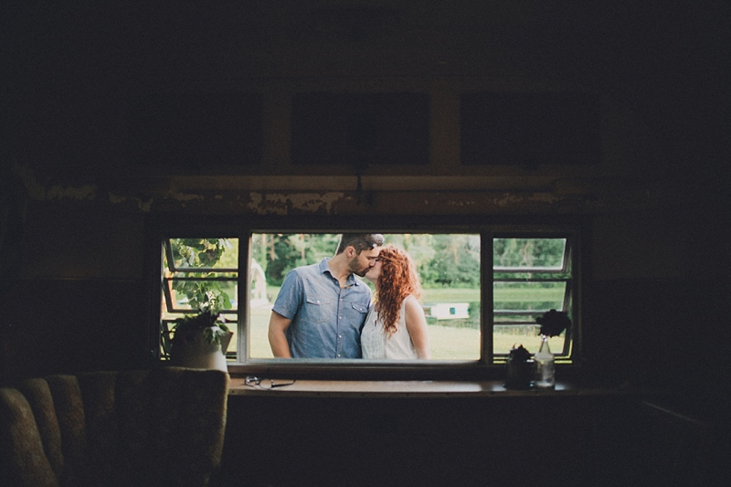 A Couple & A Camper | Engagement