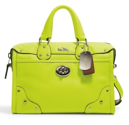 Coach Rhyder Bag in Glo Lime