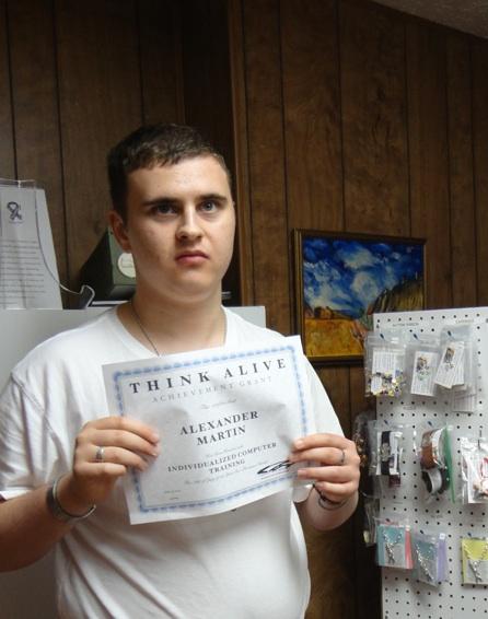 Photo of winner Alex Martin