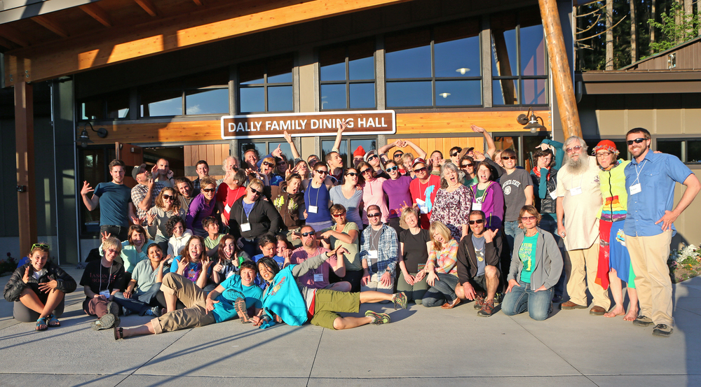 "An amazing group of experiential educators from all over the Northwest gathered together to make ""shift happen""!"