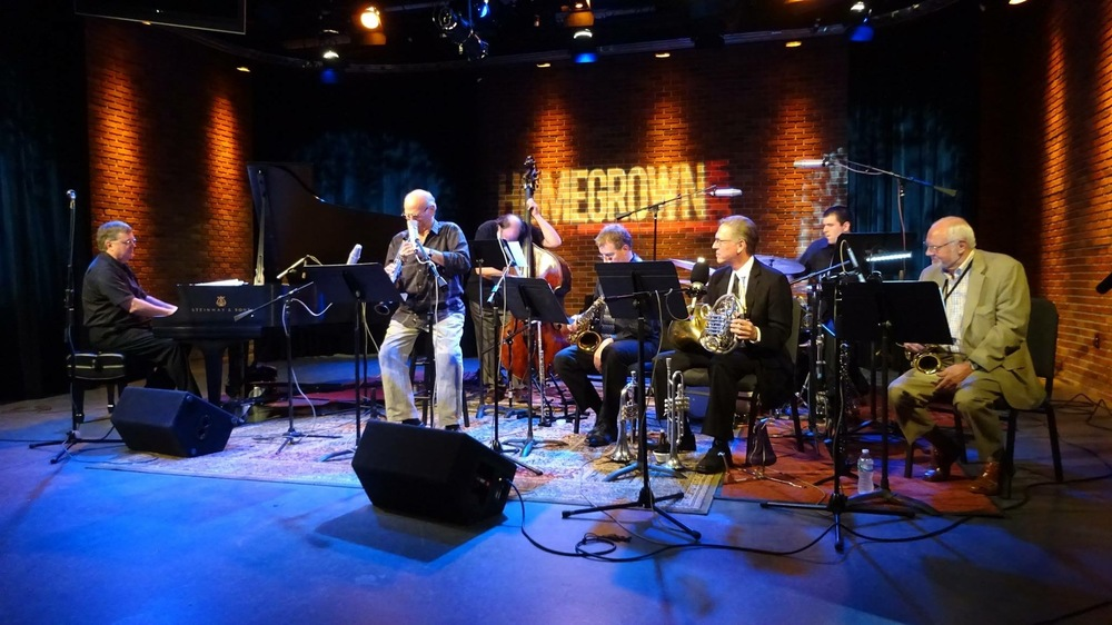 At WVIA Studios with Guest Soloist David Liebman