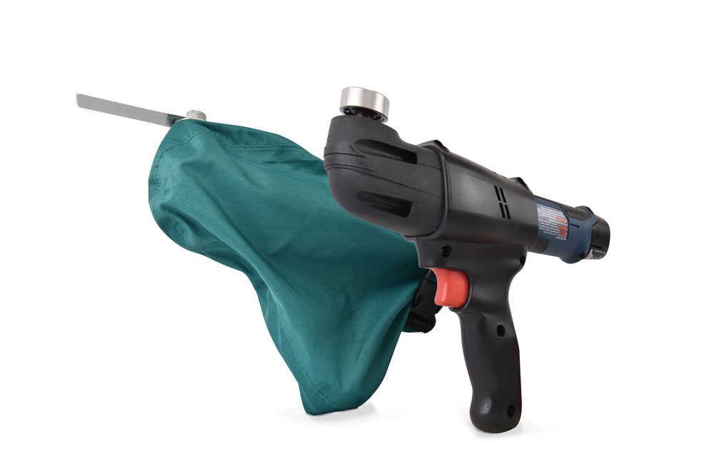 SawCover - The SawCover completes the Arbutus power tool line for arthroplasty, trauma, and other applications.
