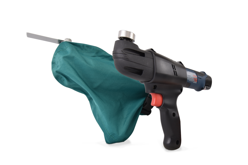 SawCover System - The SawCover System completes the Arbutus Medical's power tool line. The oscillating saw features ergonomic handle design, lots of power and low vibration. A range of durable and high quality blades makes the SawCover suitable for a variety of arthroplasty and osteotomy procedures.