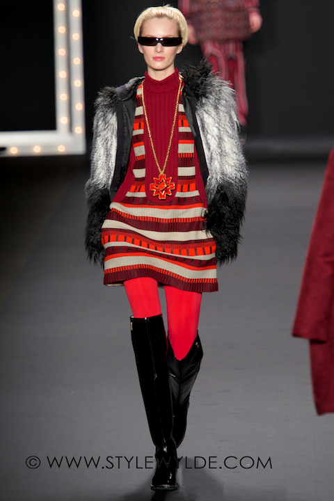 Anna Sui Fall 2013 was ALL about the mini/Image:S.Whittle for Style Wylde