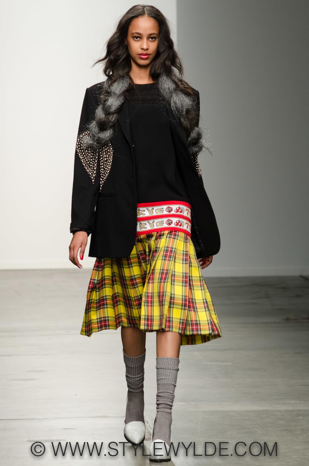 New York Kye Fall 2015 Style Wylde Magazine International Runway Fashion Designer