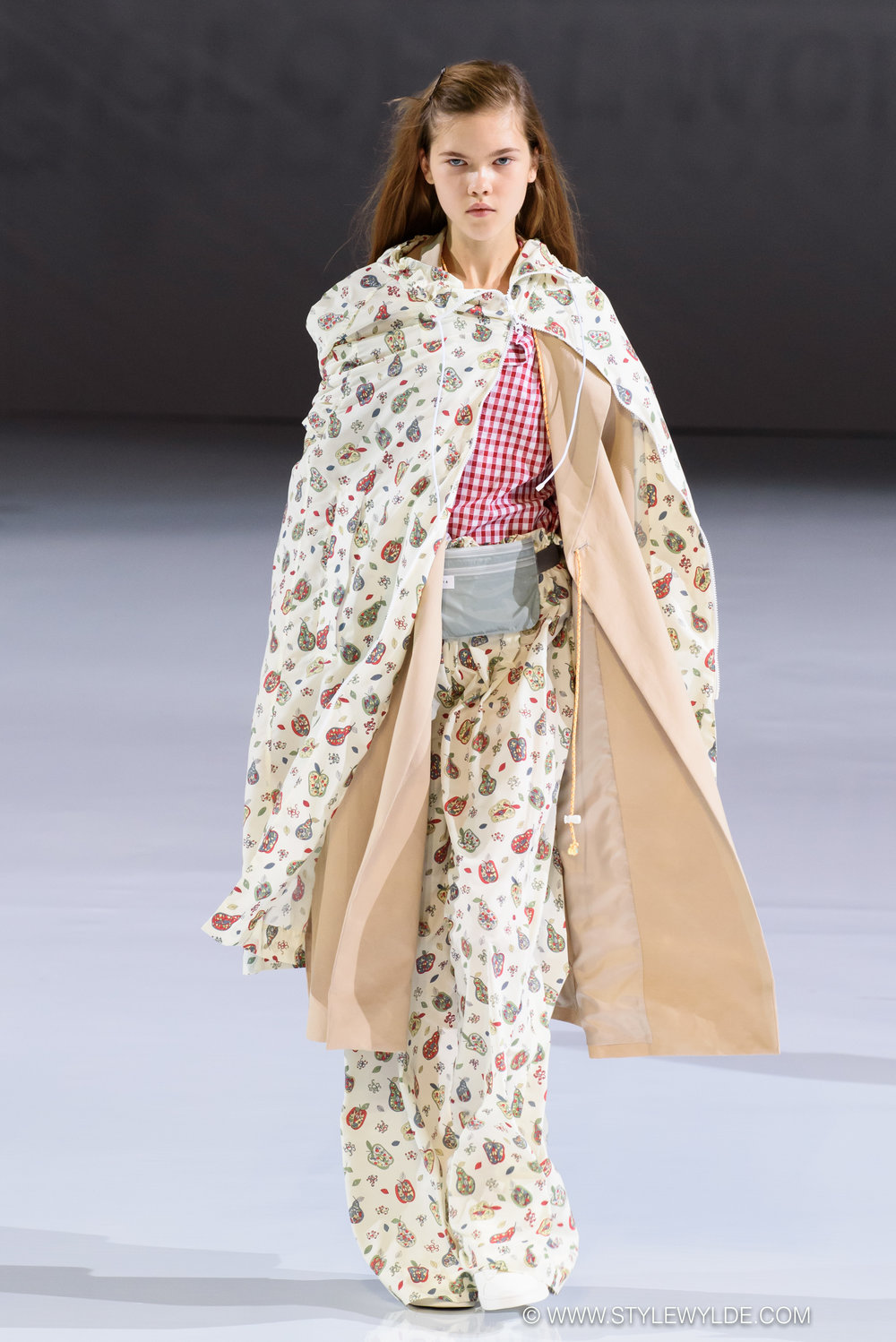 PONCHO POWER! - Charming prints, clever design features, and true wearability highlighted the Global Work Spring 2018 collection, and reminded us of how great