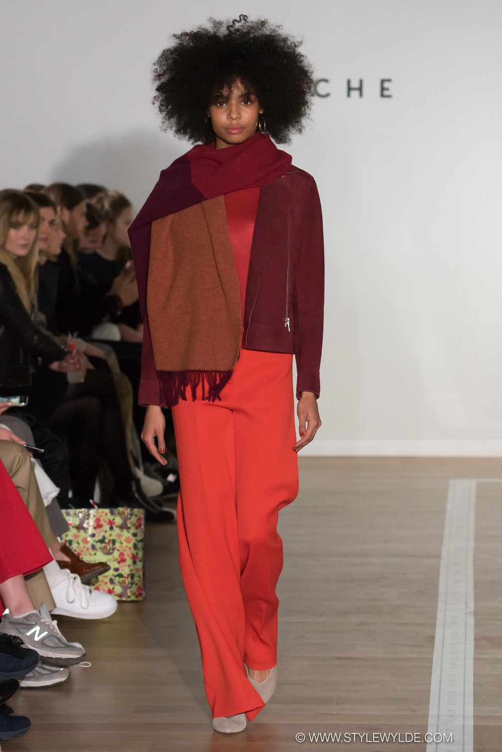 The New Girl - A huge amount of buzz surrounded the Blanche AW 2018 show which debuted on the first day of Copenhagen Fashion Week, and as the looks came down the runway it was easy to see why. The collection was supremely well constructed and embodied the low-key, minimalist meets modern, design principles which are the hallmark of Scandinavian style. Definitely