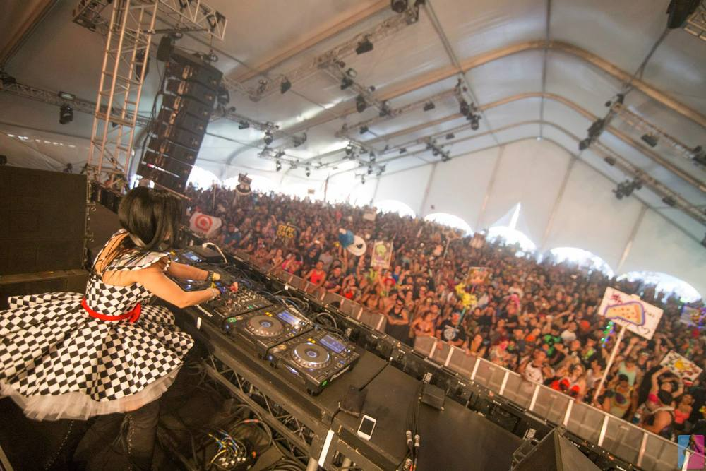 Lady Faith   Throwing it Down in Style @   Nocturnal Wonderland 20th Anniversary     Photo by:   Veranmiky