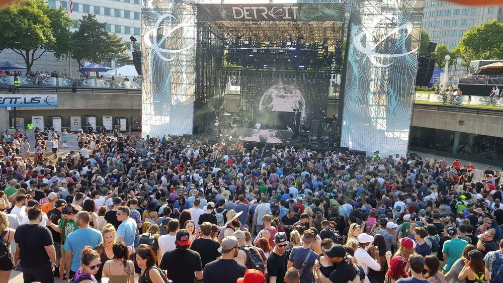 The memorial weekend techno festival that has been going strong since 2000.