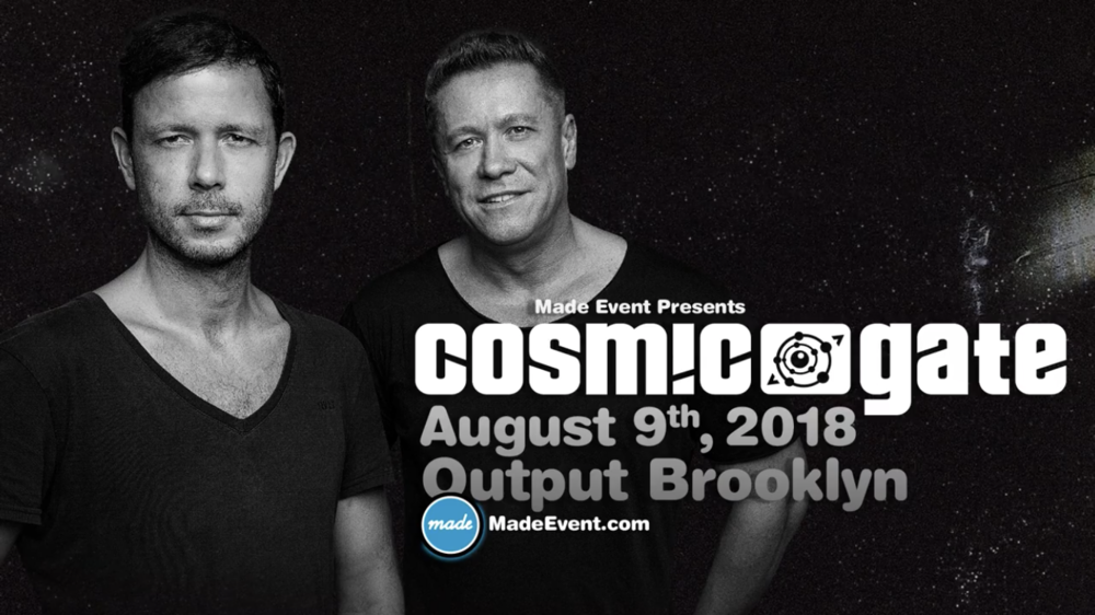 Learn More: https://www.electric-vibes.com/news/2018/6/30/made-event-cosmic-gate-at-output-89
