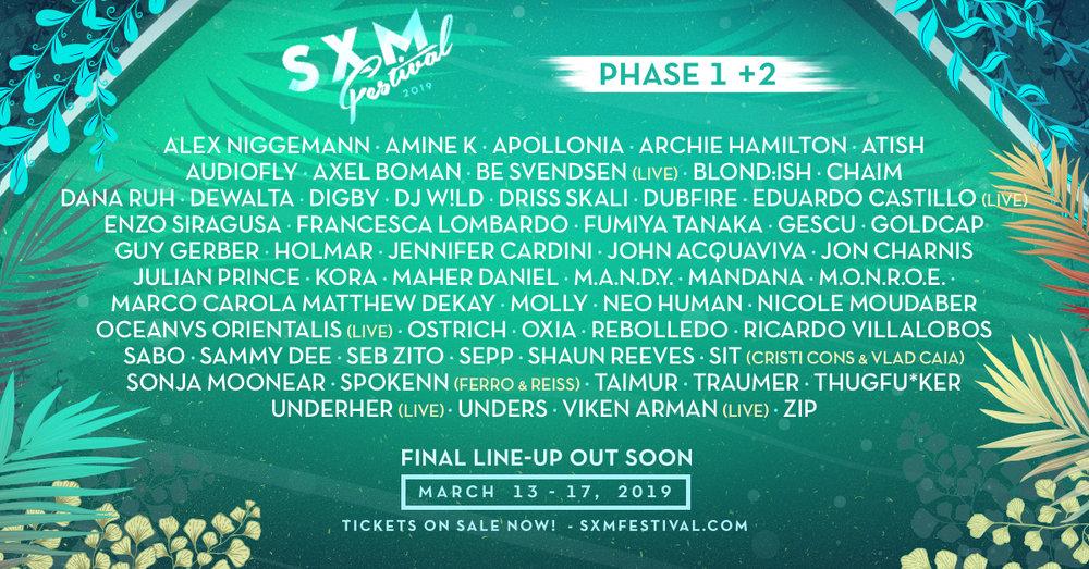 SXM Festival 2019 phase 2 lineup.jpg