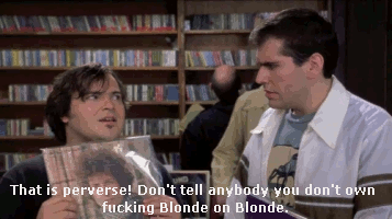I don't own Blonde on Blonde...
