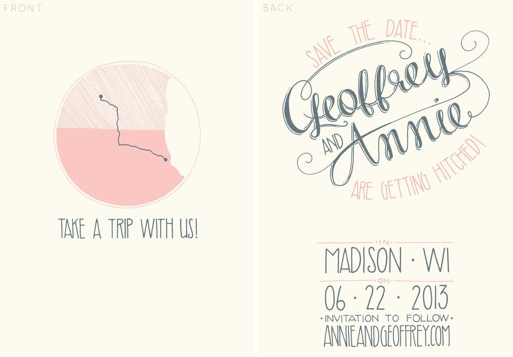 Geoffrey & Annie  | design