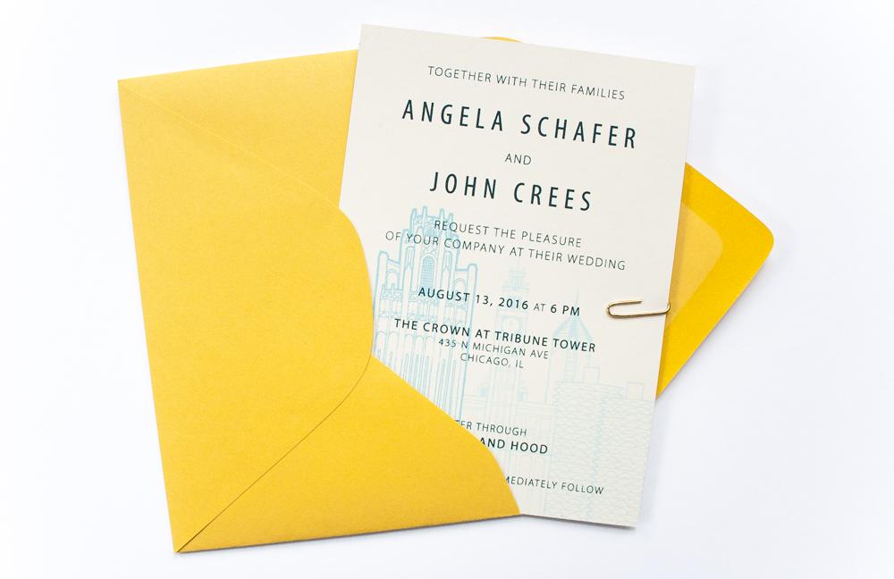 Angela & John  | design and screen printing