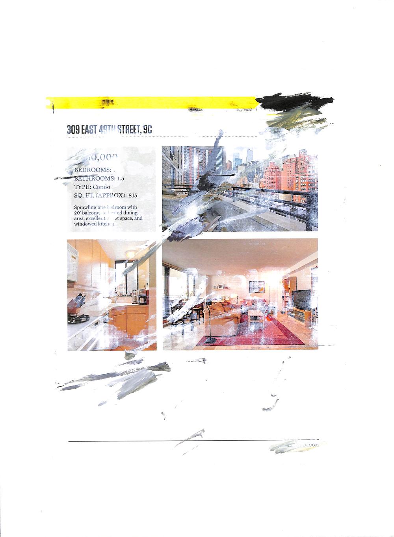 Untitled (Listing 6), 2015