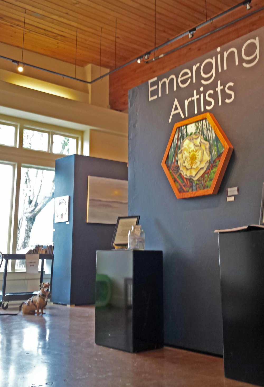emerging art sign dog bg.jpg