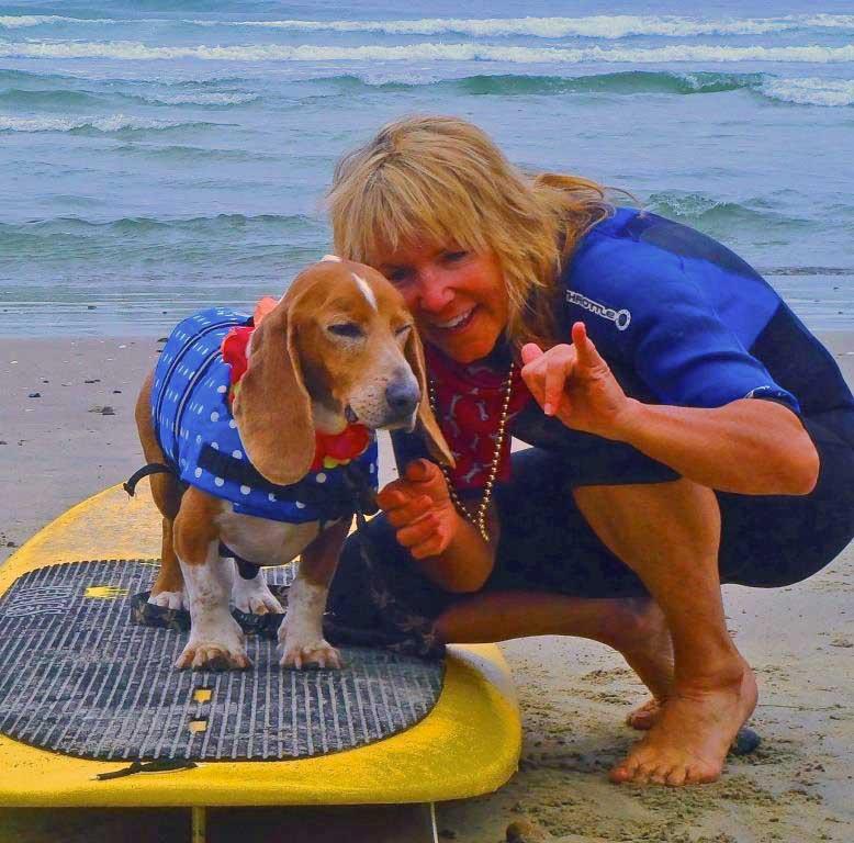 RIP Dude, soul surfer.   Photo: (c) barb Ayers, DogDairy.org