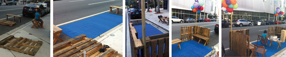 A Park(ing) Space in the Making