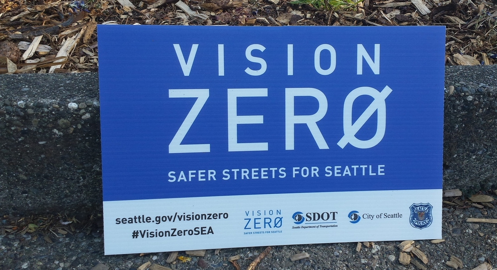 Working toward zero fatalities by 2030 (Image from SDOT Photos)