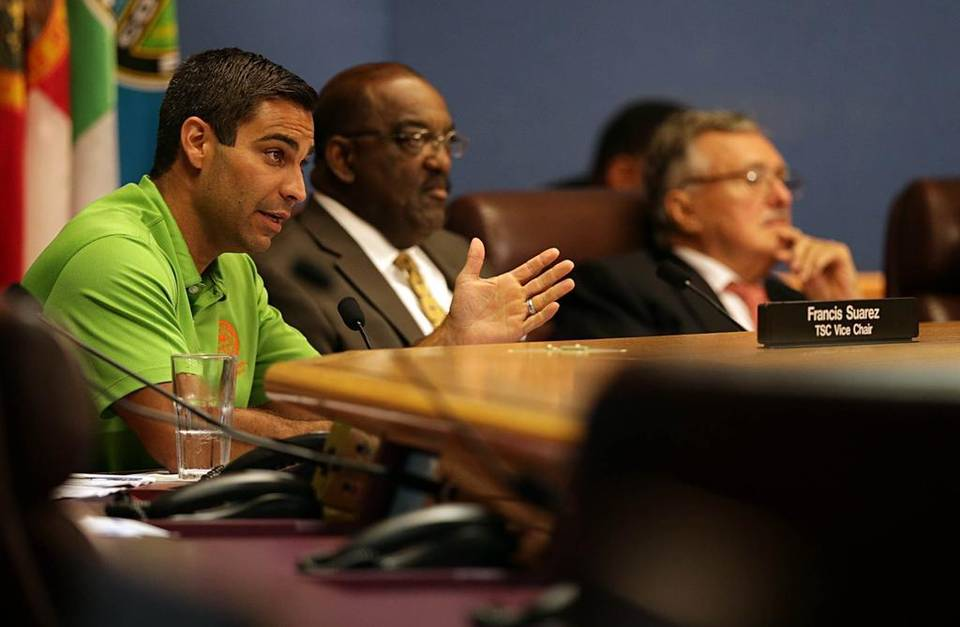 Meeting of a Special Committee of the MPO - image courtesy the Miami Herald