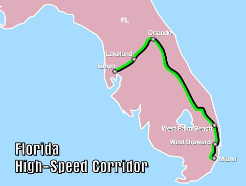 Proposed FL High-Speed Rail - Source