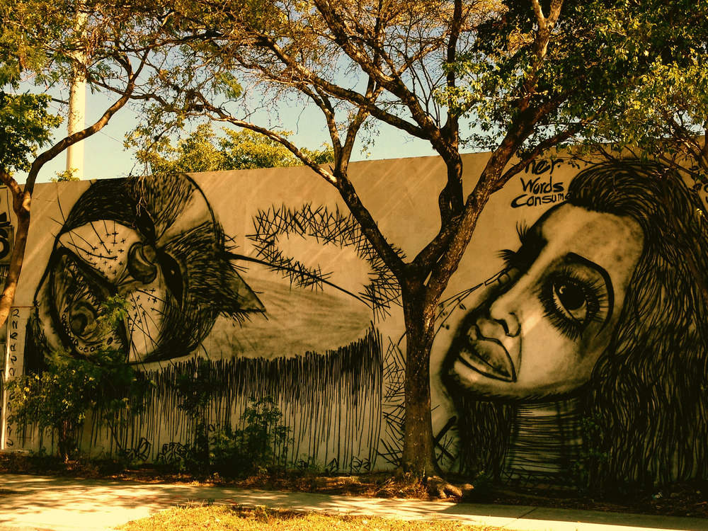Wynwood Mural - Photo courtesy Juan Cristobal Zulueta