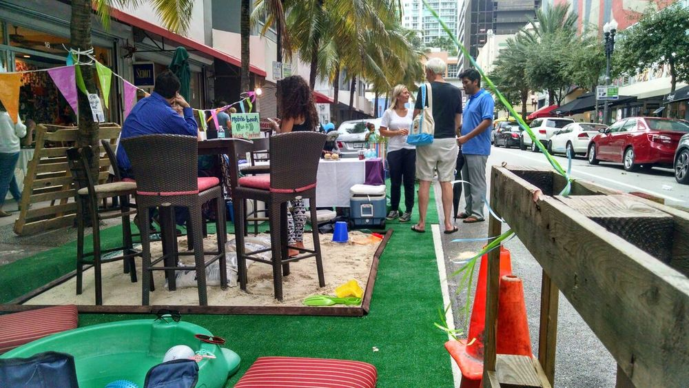 A PARK from last year's PARK(ing) Day