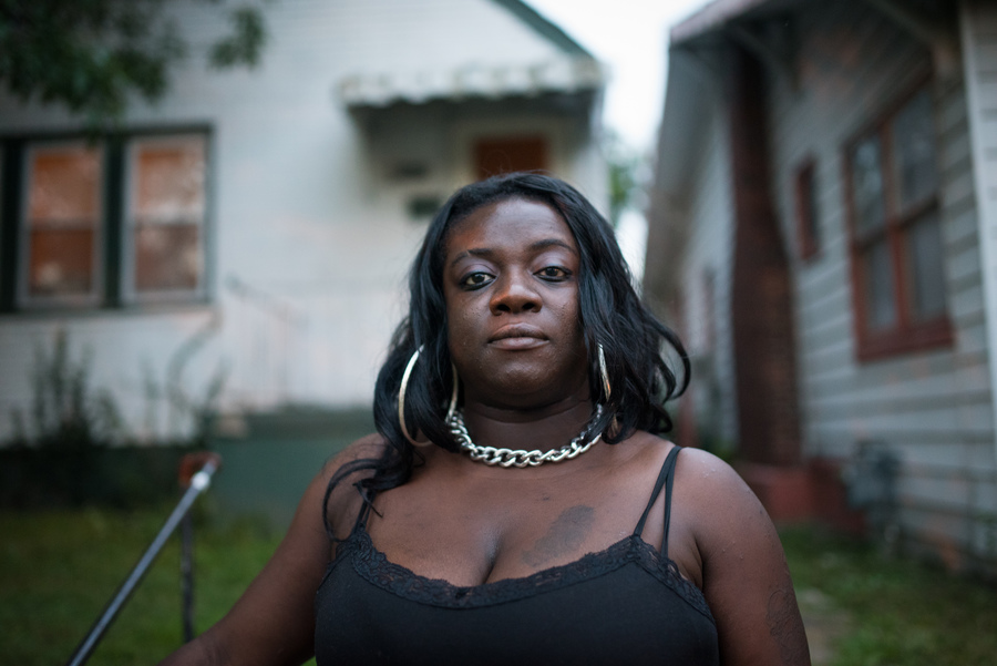 Wage garnishment that began in 2012 over an unpaid car loan has never stopped for Cori Winfield. Her annual interest rate is over 30% so she has already paid what she owed twice over - Image courtesy Edwin Torres/ProPublica