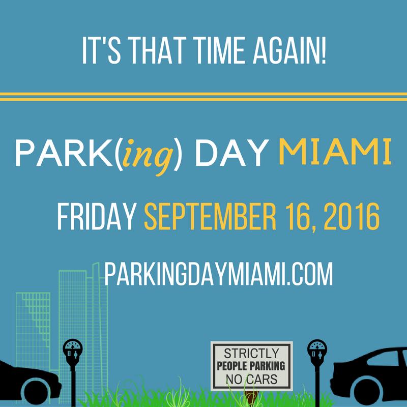 PARK(ing) Day | Miami