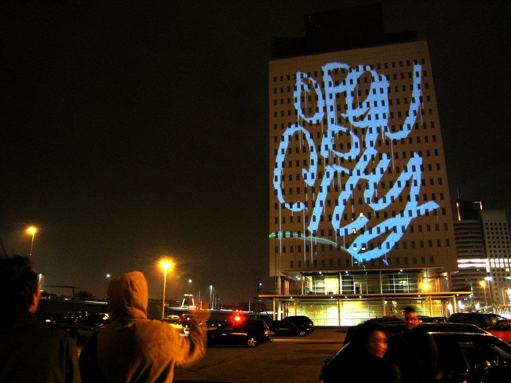 Laser Graffitti