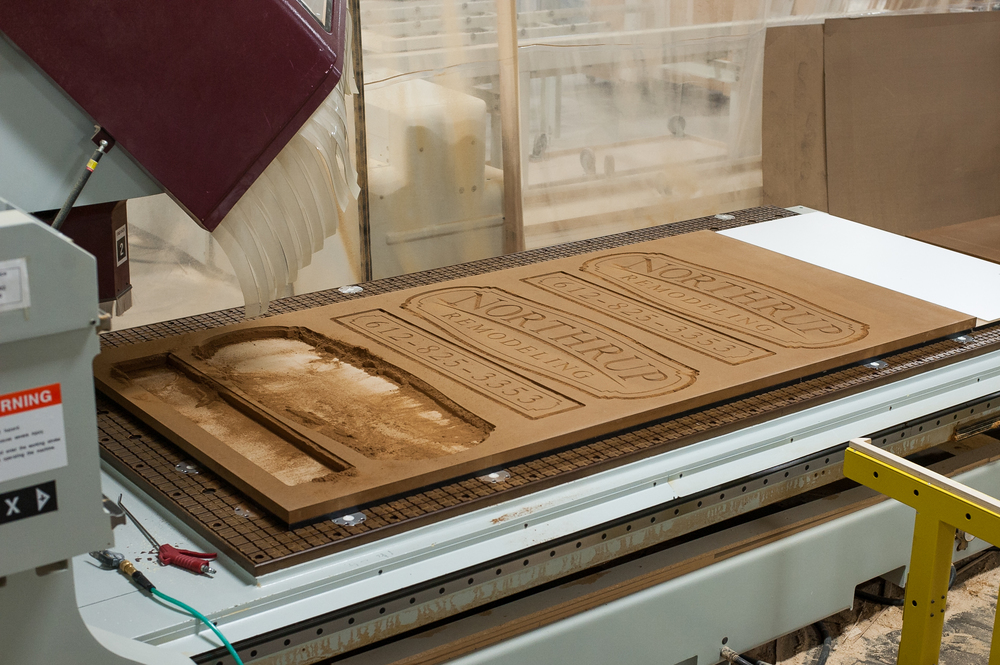 Project on CNC bed