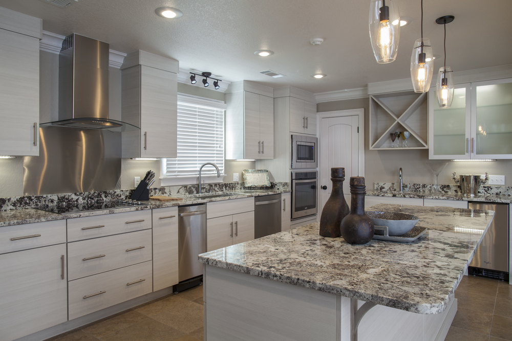 Eclipse Reconstituted White Oak Kitchen Cabinetry
