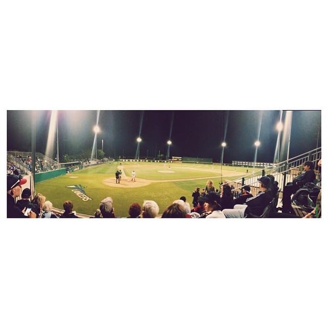 Amuricah's favorite sport, baseball! ⚾️❤️🇺🇸 #golancers #pluvscbu | April 18th, 2014