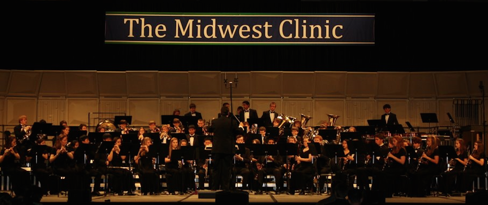 The CLHS Wind Ensemble was a featured performer at the 2009 MidWest Clinic in Chicago, Illinois.