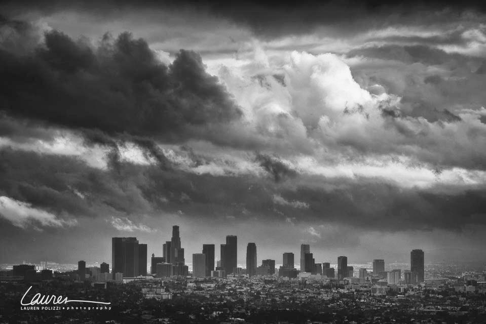 View from Griffith Park Observatory - Los Angeles, CA.