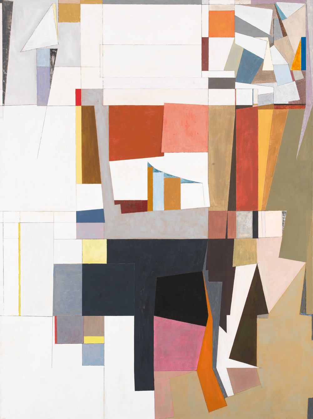 "Some Difference, 1986, oil on canvas, 76""x57"""